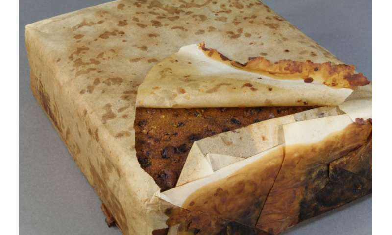 100-year-old fruit cake among the artefacts from Cape Adare.