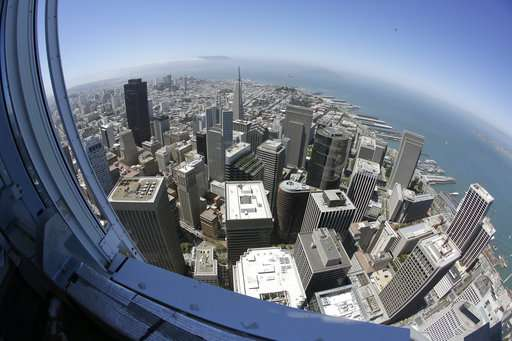 $1 billion tower lifts San Francisco skyline to new heights