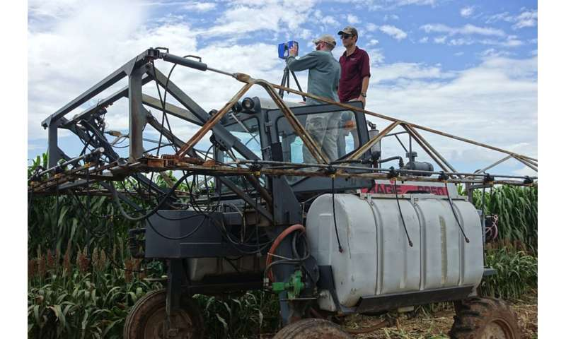 3-D crop imaging helps agriculture estimate plant height