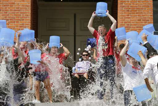 ALS patient behind ice bucket challenge: I will bounce back