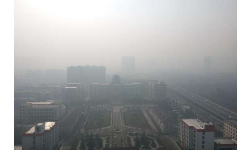 Ammonia emissions unlikely to be causing extreme China haze