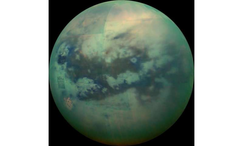 Cassini's search for the building blocks of life on Titan