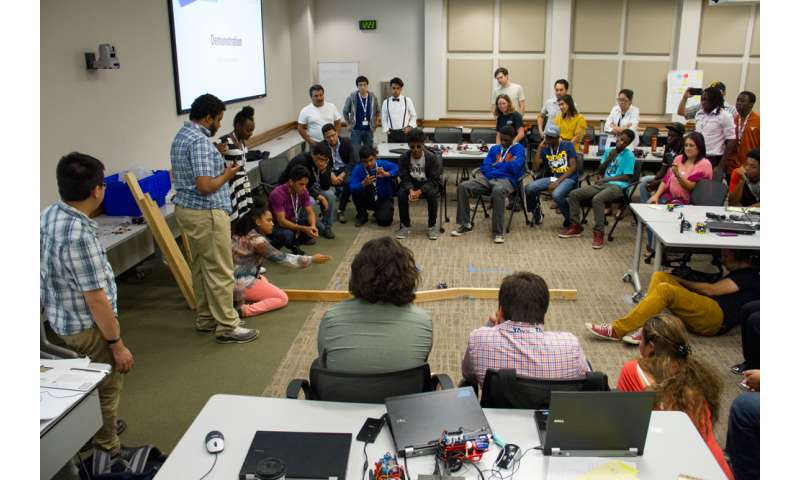 Code @ TACC Robotics Camp Delivers on Self-Driving Cars