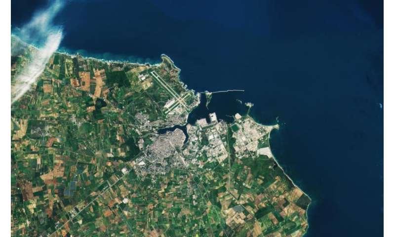 Copernicus Sentinel-2B captures Brindisi, Italy