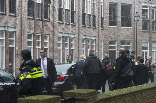Dutch security officer held for suspected data leak