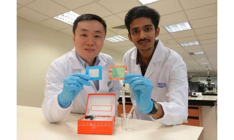 Engineering team develops novel nanofibre solution for clean, fresh air
