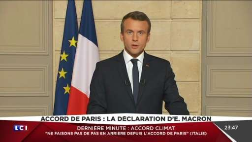 French President Emmanuel Macron has invited American scientists, businesspeople and citizens who are frustrated by the White Ho