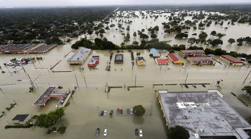 Geophysicist: Weight of Harvey rains caused Houston to sink