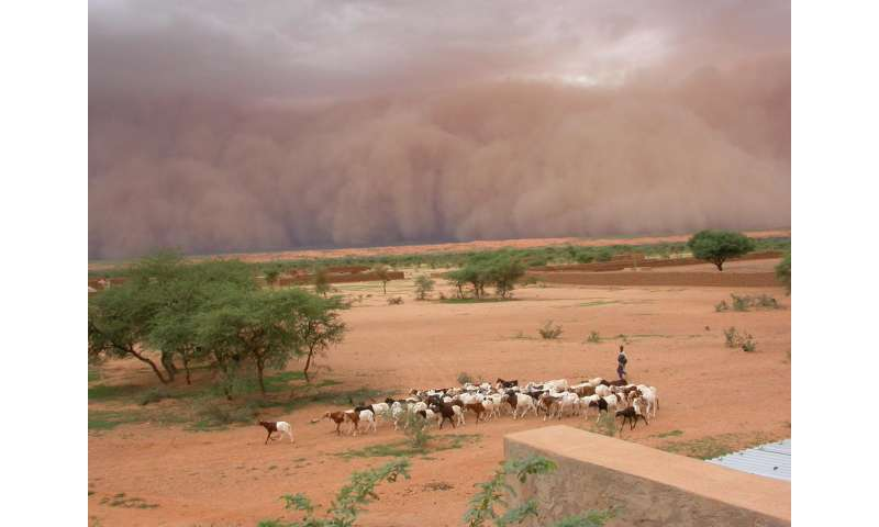 Global warming accounts for tripling of extreme West African Sahel storms, study shows