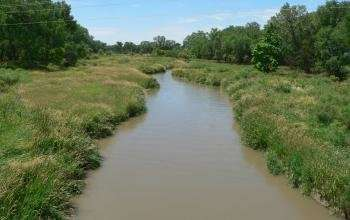 How much water flows into agricultural irrigation?