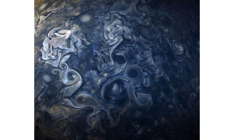 Image: Jupiter blues