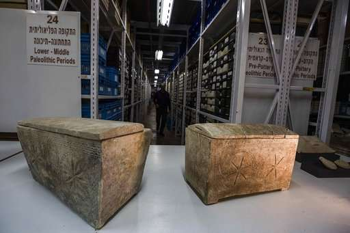 In an Israeli warehouse, clues about Jesus' life and death