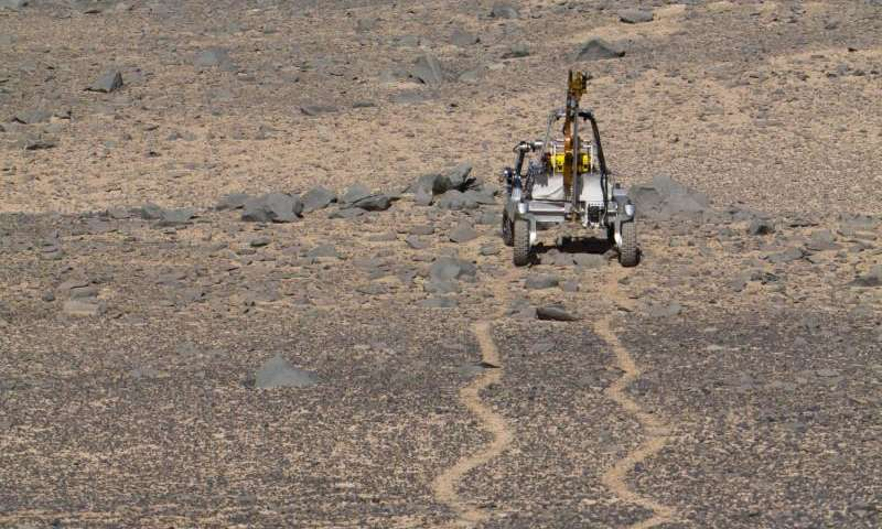 Mars rover tests driving, drilling and detecting life in Chile's high desert