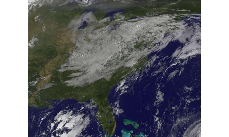 NASa sees remnants of irma ready to exit Eastern US