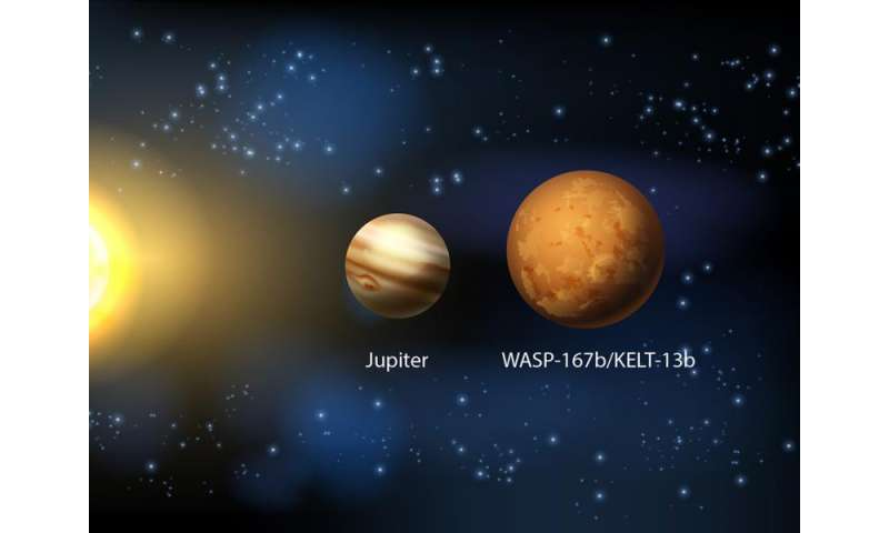 New Hot Jupiter marks the first collaborative exoplanet discovery
