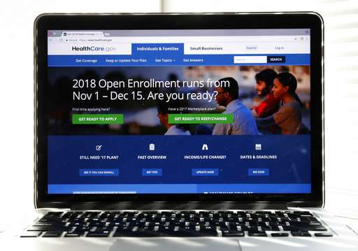 'Obamacare' sign-ups about 45 pct ahead of last year's pace