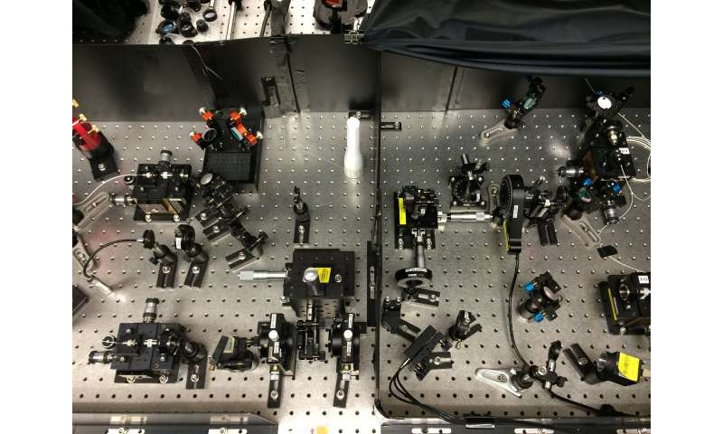 Quantum optics allows us to abandon expensive lasers in spectroscopy