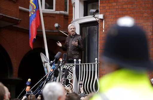 Rape inquiry dropped, WikiLeaks' Assange remains in embassy
