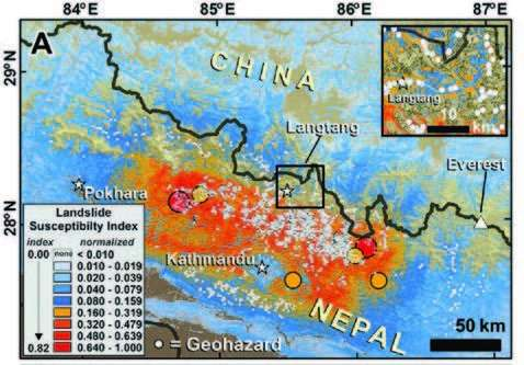 Satellite data guided an unprecedented effort to help Nepal recover from a series of earthquakes