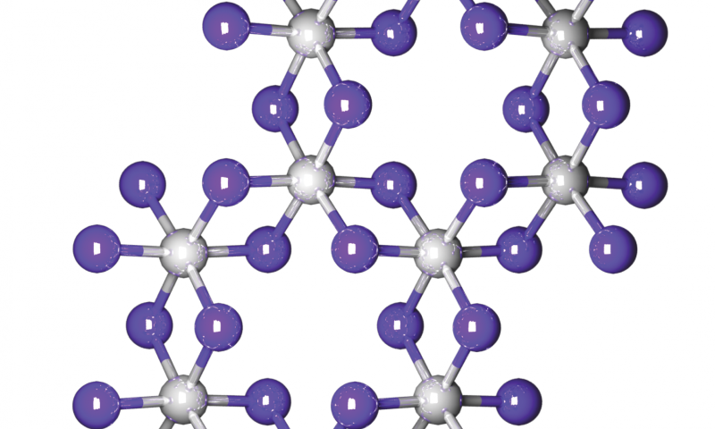 Scientists discover a 2-D magnet