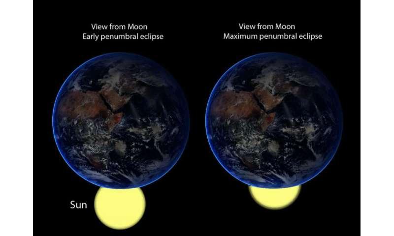 See a flirtatious lunar eclipse this friday night