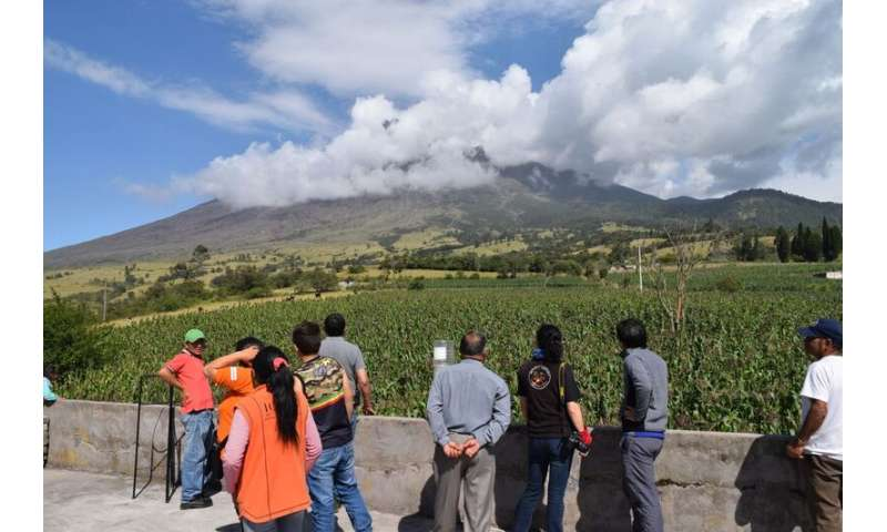 'Shadow network' keeps communities safe from deadly volcano