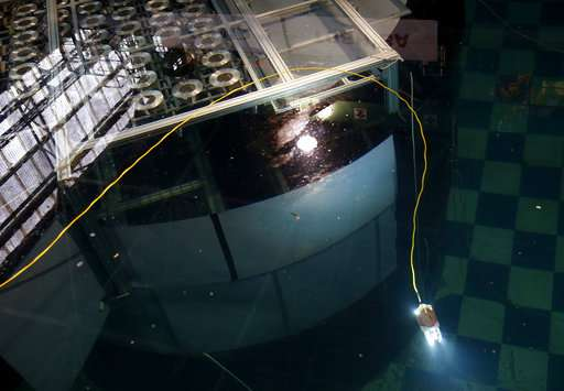 Swimming robot to probe damage at Japan nuclear plant