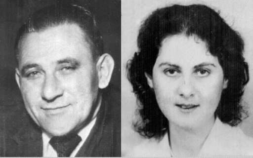 This combination of undated file photographs created on December 1, 1992, shows Louis Washkansky (L) and Denise Ann Darvall (R)