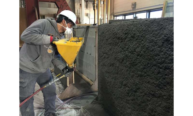Video: Researchers develop earthquake-resistant concrete