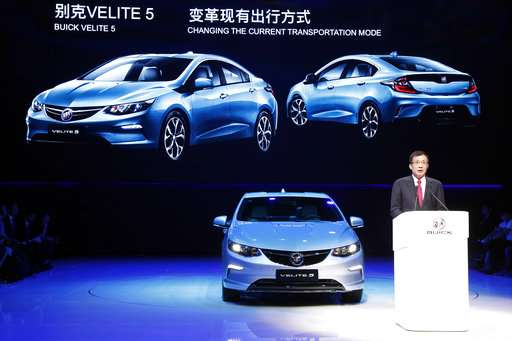Volvo announces plans to export China-made electric car