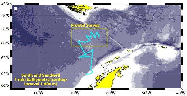 Wave Glider surfs across stormy Drake Passage in Antarctica
