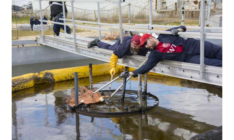 Novel oil spill cleanup technology successfully tested