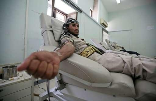 Yemen national blood bank faces threat of closure