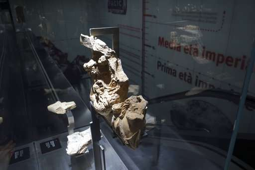 Ancient Rome treasures discovered during subway dig on show