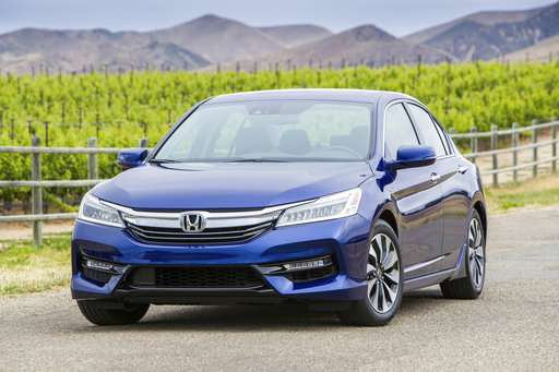 2017 Honda Accord Hybrid has top travel range in its class