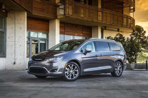 2017 Pacifica has more technology than earlier Chrysler vans