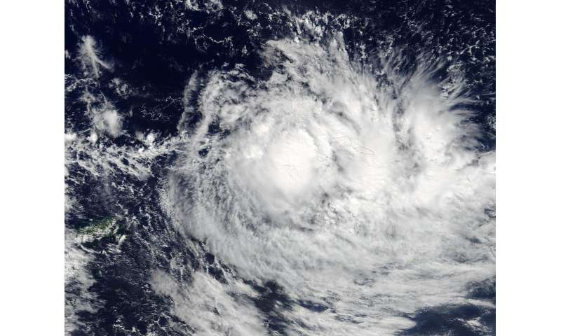 NASA sees Tropical Cyclone Ella affecting American Samoa