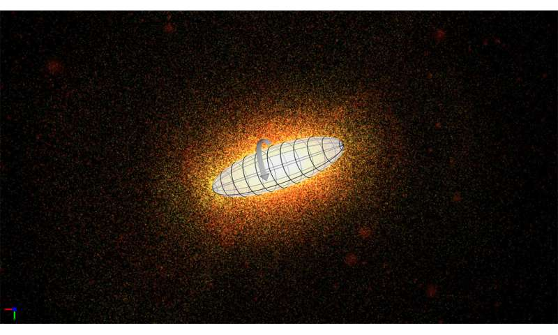 Astronomers discover unusual spindle-like galaxies