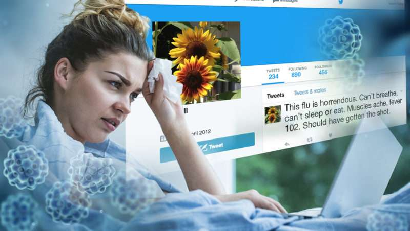 Researchers use Twitter to track the flu in real time