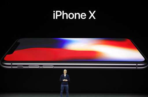 Apple unveils $999 iPhone X, loses 'home' button