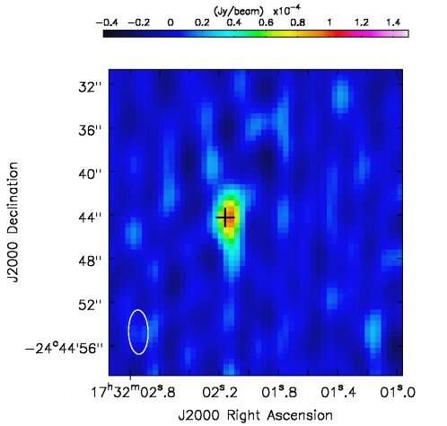 Astronomers discover radio emission from a symbiotic X-ray binary