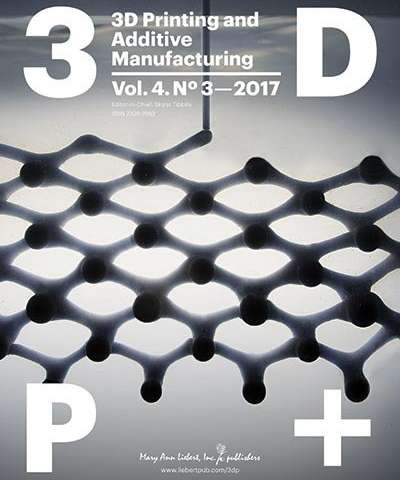Researchers achieve 4-D printing of programmable shape-changing structures