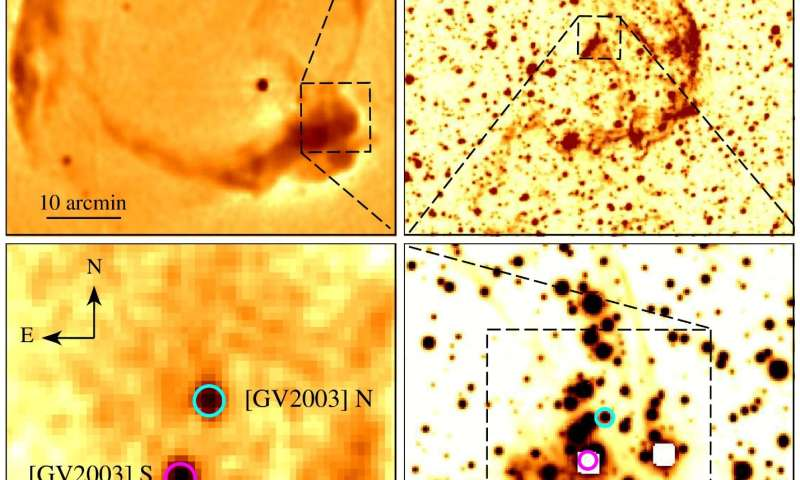 Astrophysicists discovered a star polluted by calcium