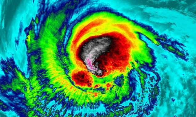 Three Hurricanes at once: Irma, Jose and Katia