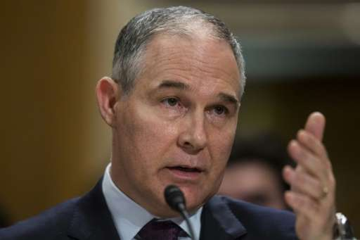 Environmental Protection Agency Administrator Scott Pruitt said rolling back Obama's 2015 Clean Power Plan would bring back coal
