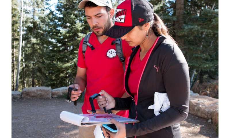 Grand Canyon rim-to-rim hikers provide data for Sandia study of health, performance