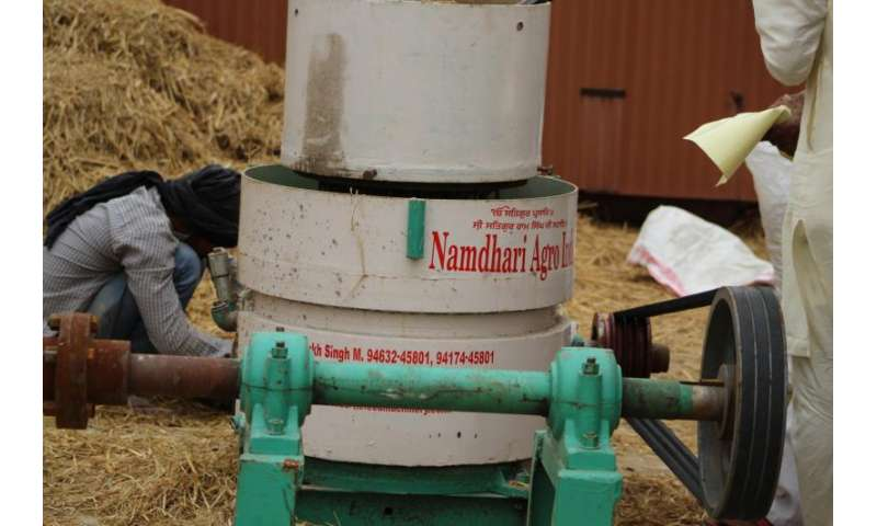 How to fix India's burning issue—turn unwanted straw into bio-energy pellets