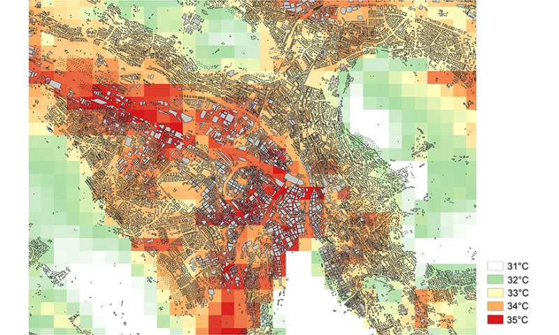 Researcher considers structural measures to protect cities from extreme heat events