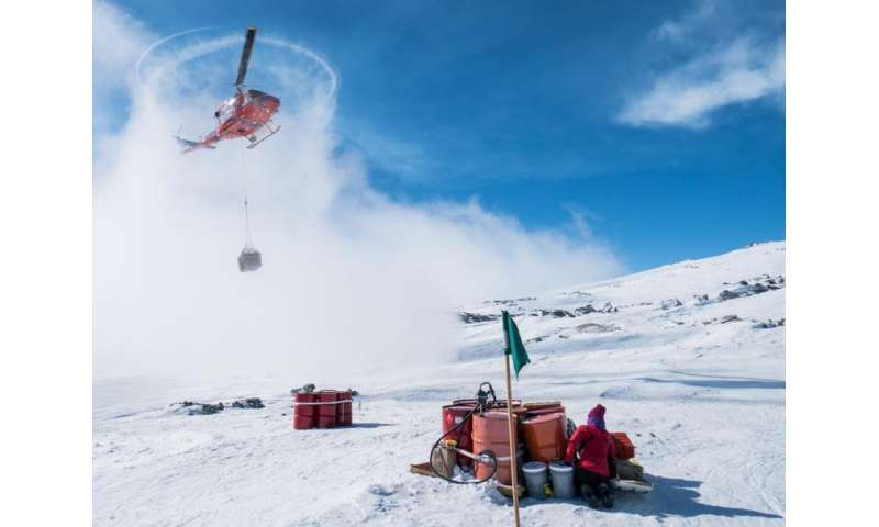 Robotic descent into a frozen underworld