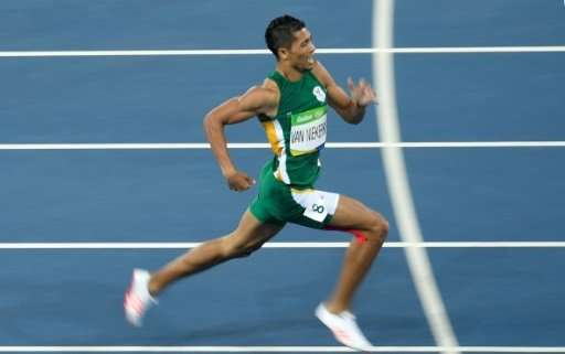 South Africa's Wayde van Niekerk won the Men's 400m Final at the Rio 2016 Olympic Games, one of just two running world records b
